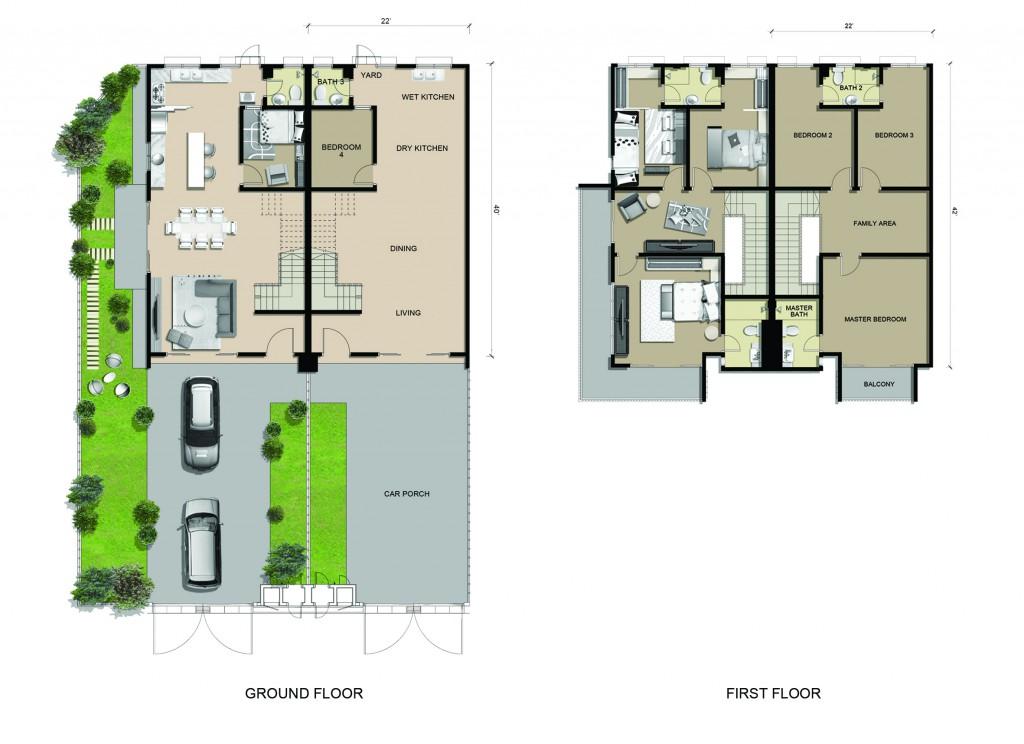 BMU5 Floor Plans